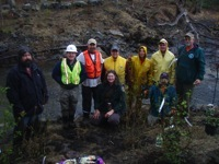Group Shot at Ox Pasture Brook_4-16-2010