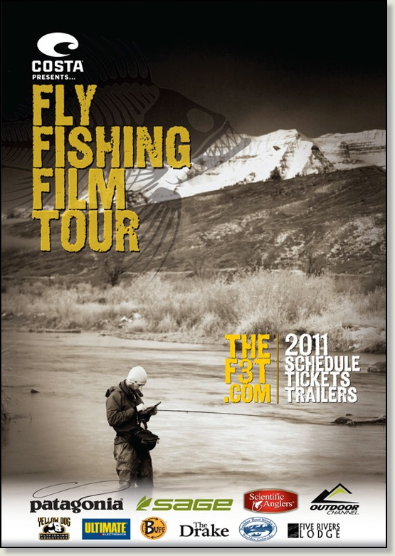 Fly Fishing Film Tour Poster